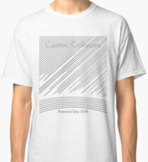 Cosmic Collisions - Asteroid Day 2019 (Black text) Classic T-Shirt