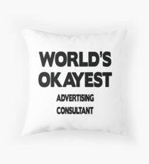 Advertising Consultant Gift Dekokissen