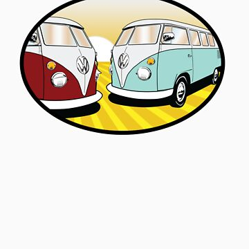 Volkswagen Tee Shirt - Split Decision by KombiNation