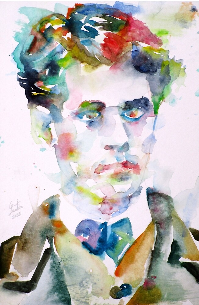 LAUTREAMONT - watercolor portrait by lautir