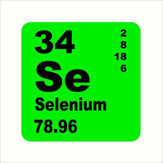Lminas artsticas selenio tabla peridica de elementos de selenio tabla peridica de elementos de walterericsy urtaz Choice Image