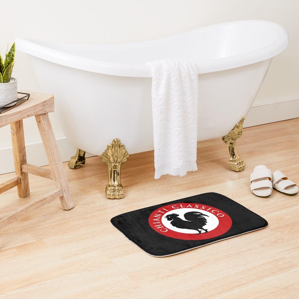 Black Rooster Chianti Classico Bath Mat