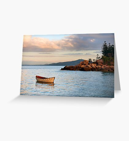 Lifeboat on the point Greeting Card