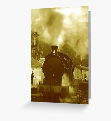 Steam Greeting Card