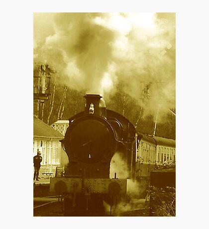 Steam Photographic Print