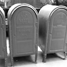 US mail boxes - New York by ben leiman
