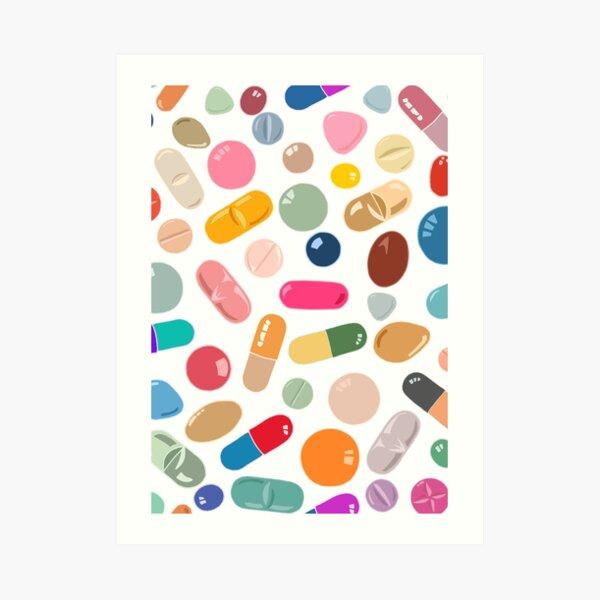 Sunny Pills Art Print