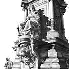 Cologne Altemarkt: Memorial to Luzie by Haroldbeckart