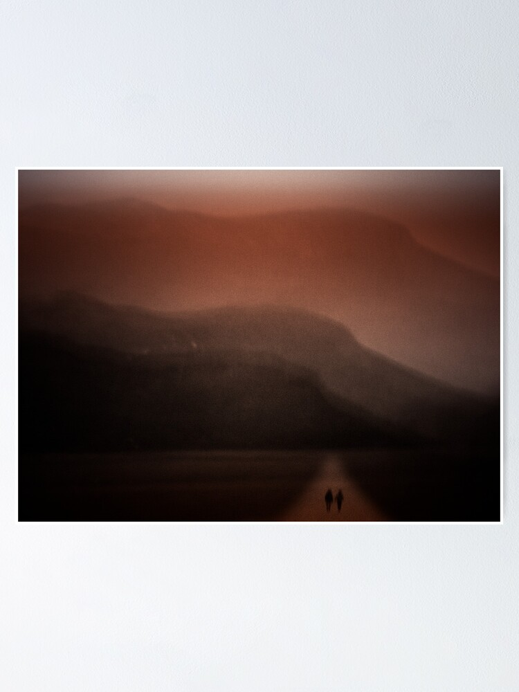 Alternate view of Walking With Mountains Poster