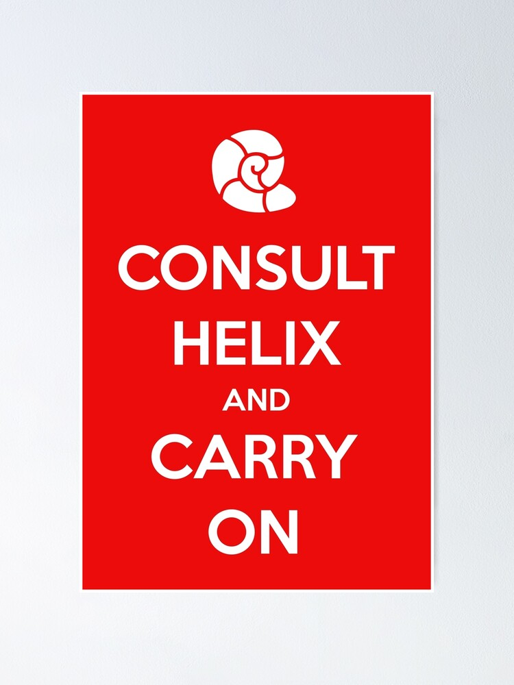 Alternate view of Consult Helix, Carry On Poster