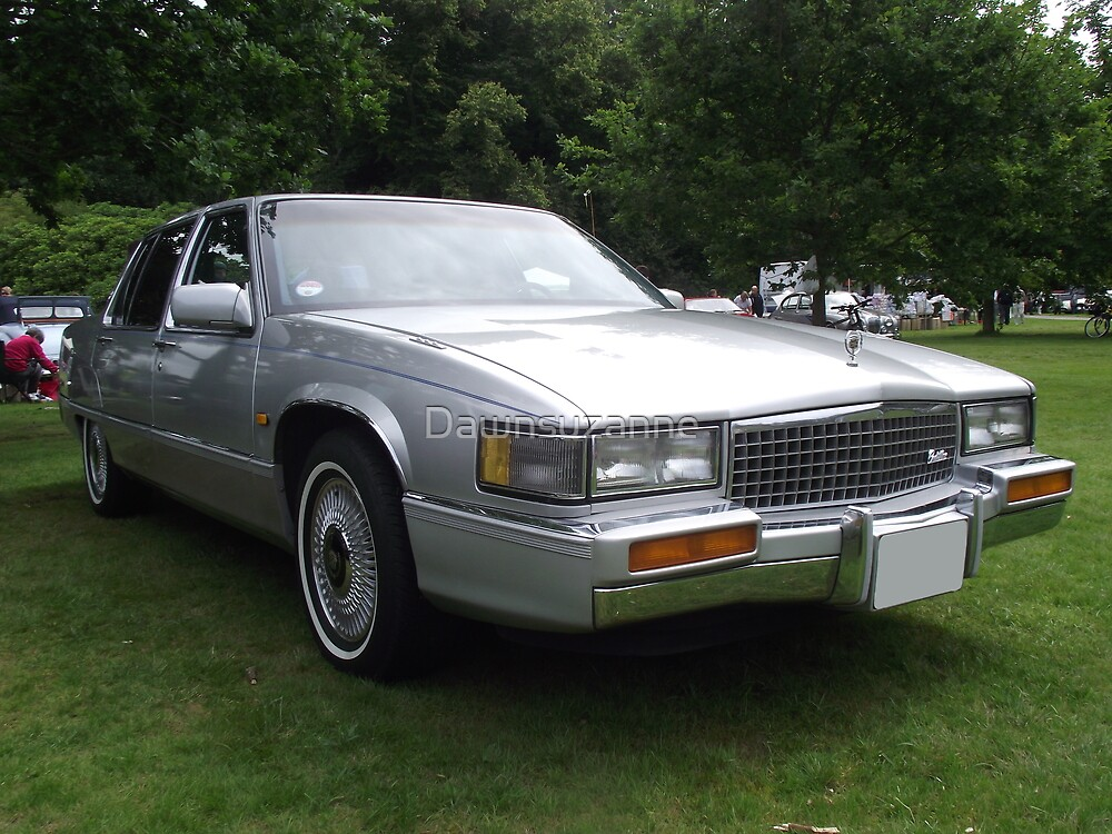 Silver Cadillac Seville Car 80's by Dawnsuzanne