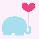 Elephant love by Danielle Pioli