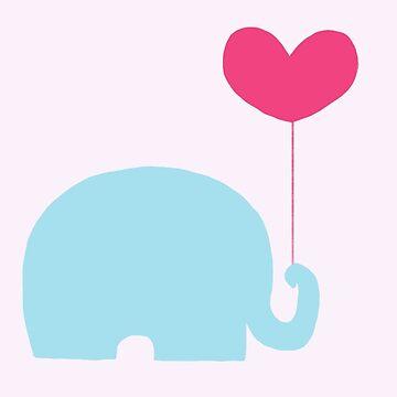 Elephant love by danepioli