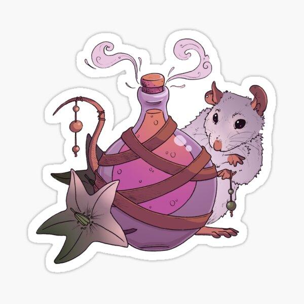Potion Rat Sticker