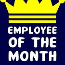 Employee of the month by wordpower900