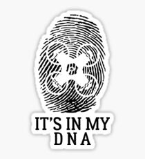 Drone Pilot It's In My DNA Sticker