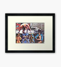 Battle of the Sexes Framed Print