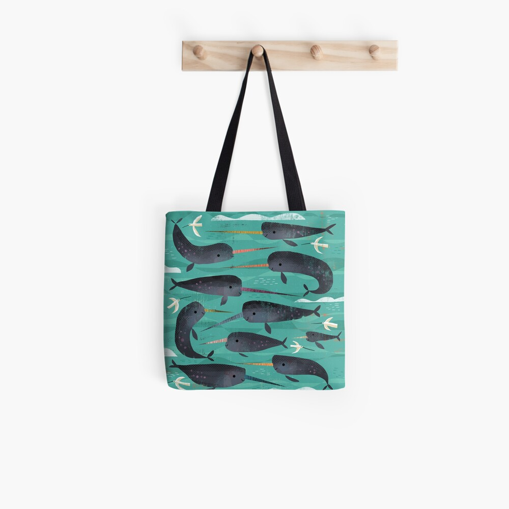Narwhals and Narbirds Tote Bag