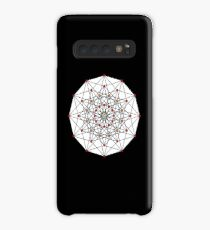 6-cube hexeract  Case/Skin for Samsung Galaxy