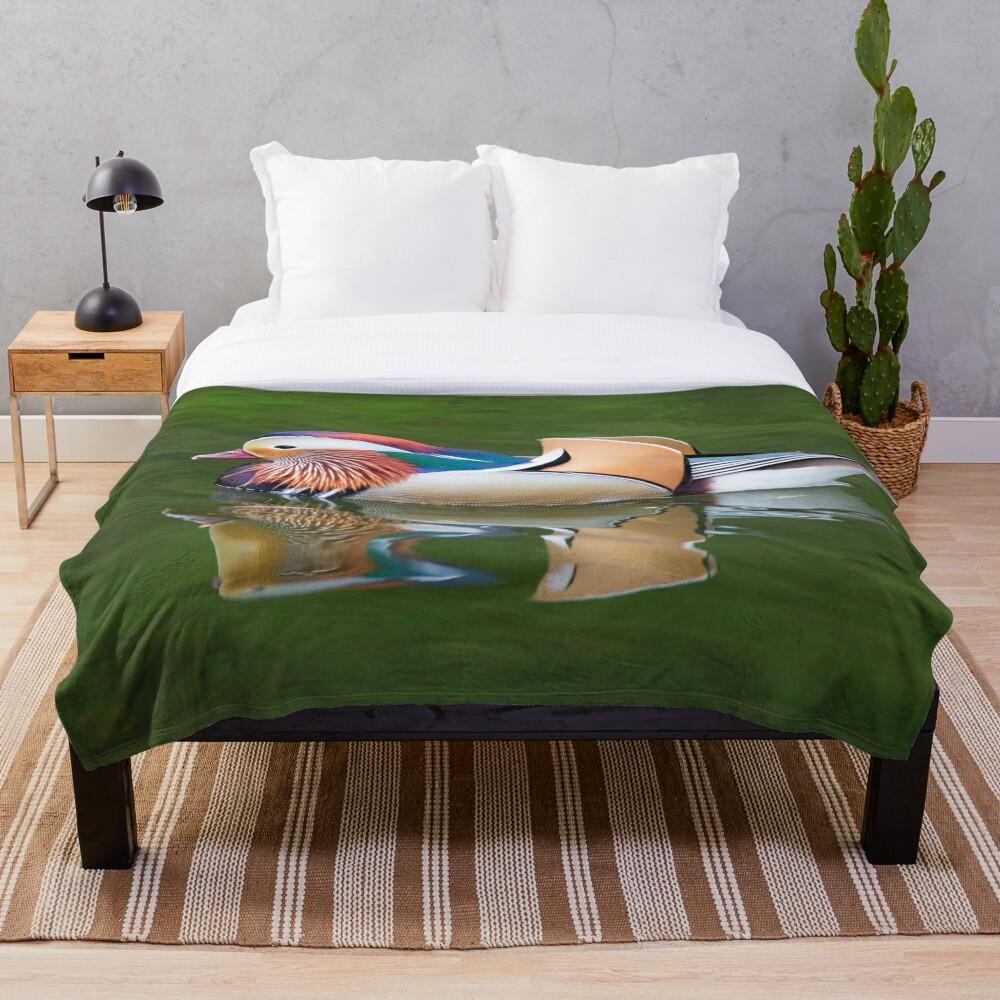 Mandarin Throw Blanket