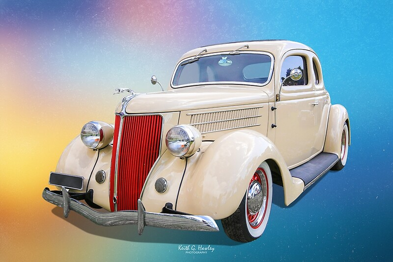 '1936 Coupe' by Hawley Designs
