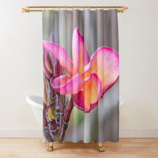 Siem Reap Flora Shower Curtain