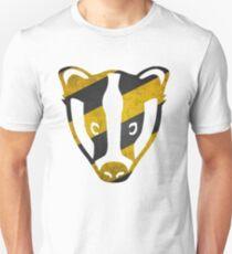 Badger - Yellow & Black Stripes T-Shirt