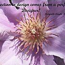 Clematis inspirational card by sarnia2
