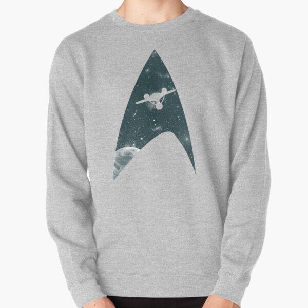 Space the final frontier Pullover Sweatshirt