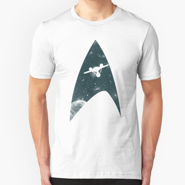 Space the final frontier Slim Fit T-Shirt