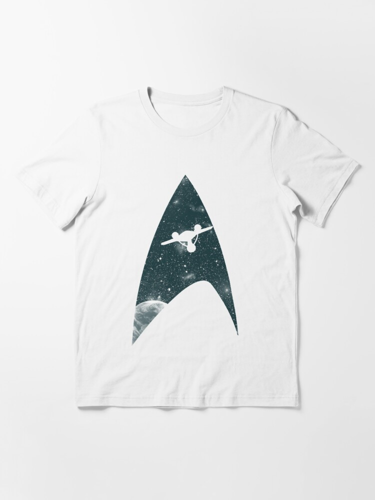 Alternate view of Space the final frontier Essential T-Shirt
