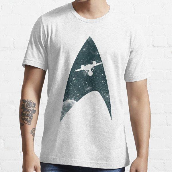 Espace la dernière frontière T-shirt essentiel