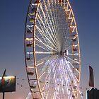 Big Wheel of Augillon-sur-Mer by Pamela Jayne Smith