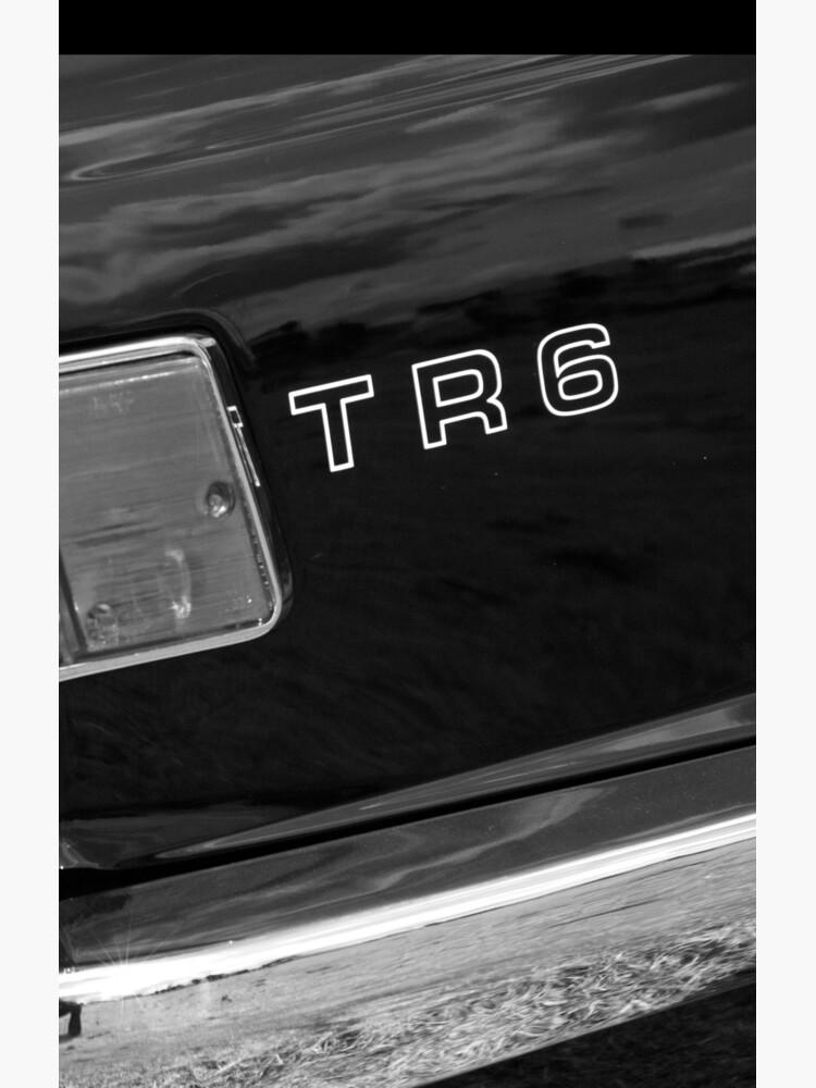 Classic Triumph TR6 Sports Car by robcole