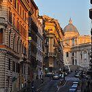 Street scene in Monti, Rome by revealedrome