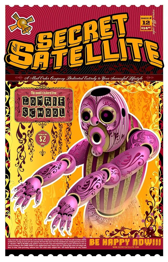 The Secret Satellite Mail Order Flyer #12 by Kristian Olson