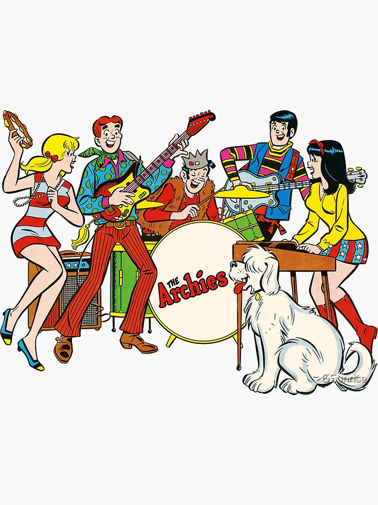 The Archies  music stars by GSunrise