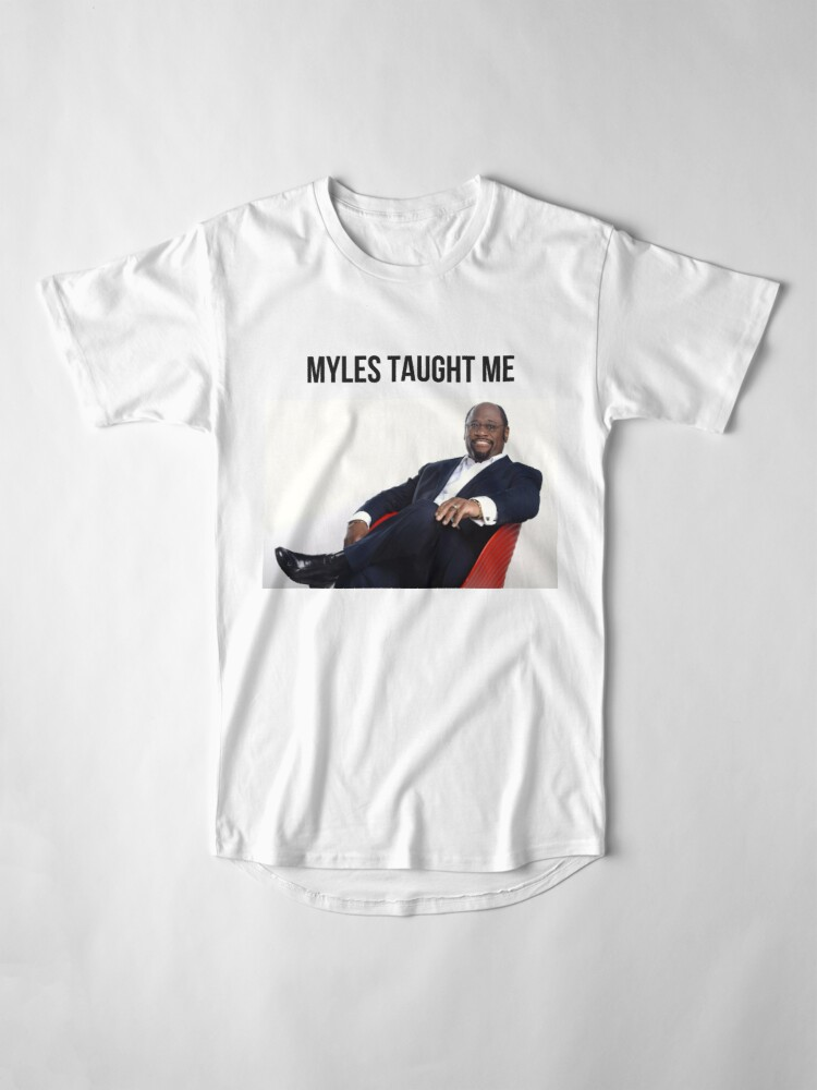 Alternate view of Myles Taught Me Long T-Shirt