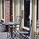 Sidewalk Cafe by Colleen Drew