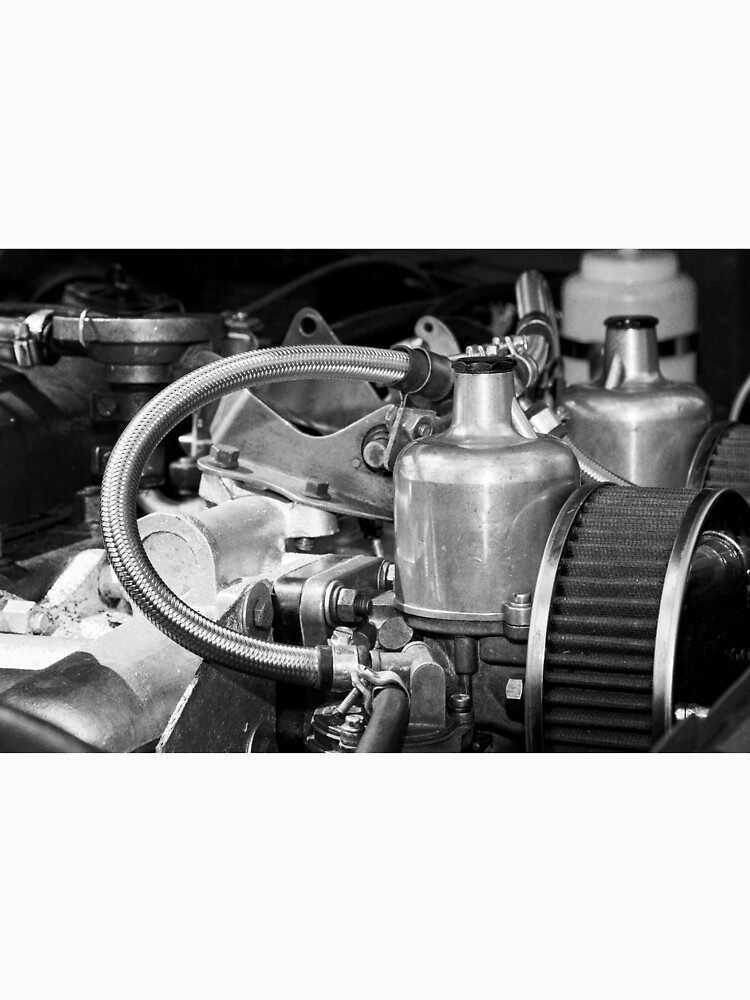 Classic MG Sports Car Engine by robcole
