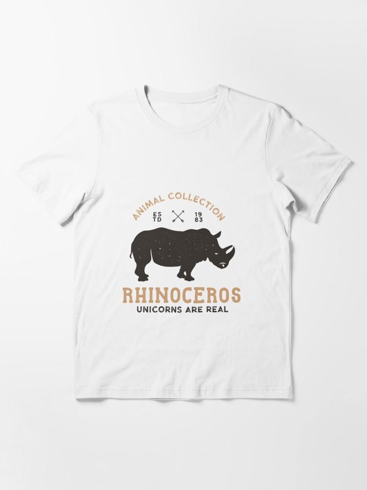 Alternative Ansicht von Einhörner sind real Essential T-Shirt