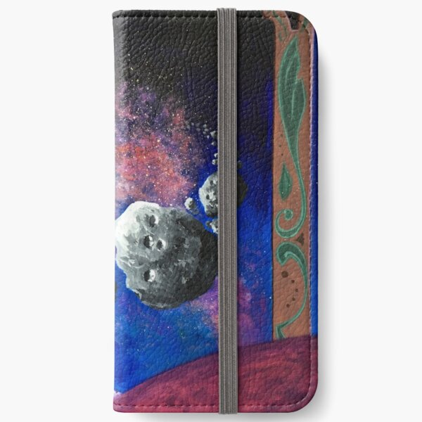 Asteroid Day Poster iPhone Wallet