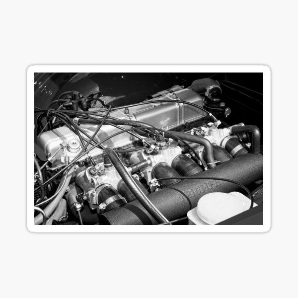 Classic Triumph TR6 Engine Sticker