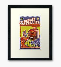 The Secret Satellite Mail Order Flyer #9 Framed Print
