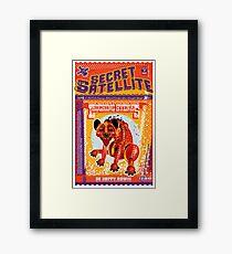 The Secret Satellite Mail Order Flyer #7 Framed Print