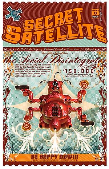 The Secret Satellite Mail Order Flyer #6 by Kristian Olson