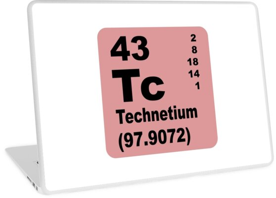 Technetium Periodic Table of Elements by walterericsy