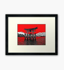 Japan Noir 12 Framed Print