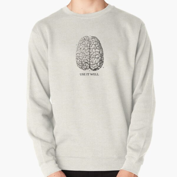 Use it well - Brain  Pullover Sweatshirt