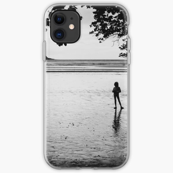 At The Beach iPhone Soft Case